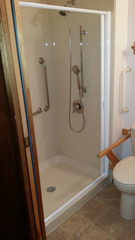 Shub shower screens campbell river comox valley for Rollaway screen door parts